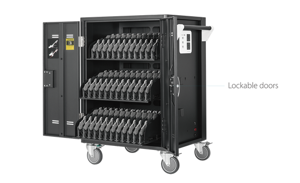 Aver 25Kg+ Freight Rate-36 bays, tablets, laptops & Chromebooks Charge Cart (C36I+)
