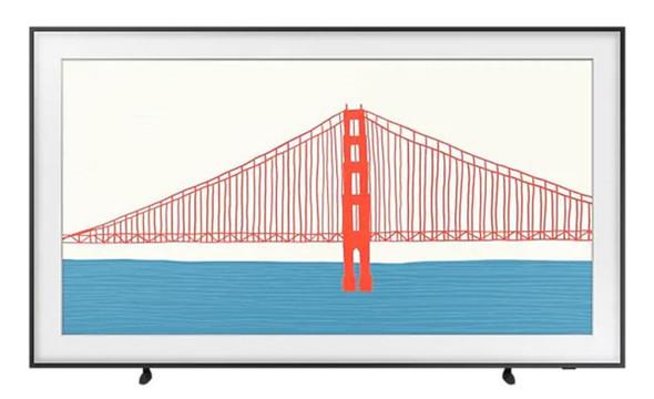 "Samsung  50"" The Frame QLED 4K Smart TV | QA50LS03AAWXXY | Rosman Computers - 1"