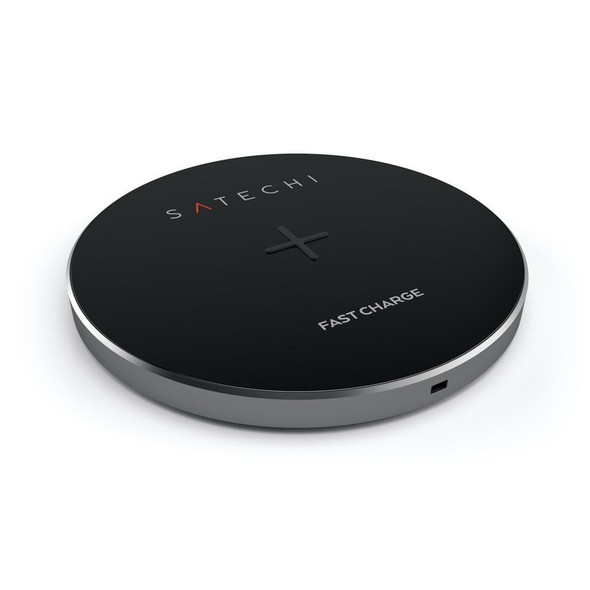 Satechi Aluminium Fast Wireless Charger (Space Grey)