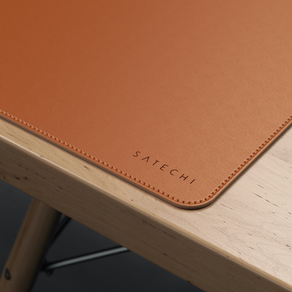 Satechi Eco Leather Deskmate (Brown) | ST-LDMN | Rosman Computers - 2