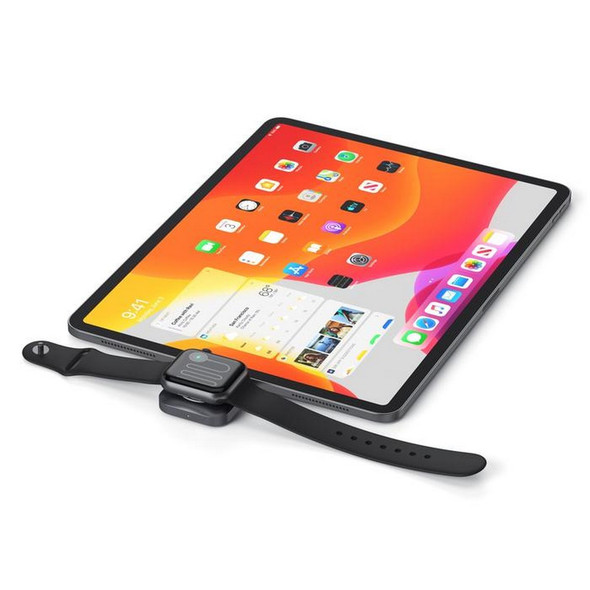 Satechi USB-C Magnetic Charging Dock for Apple Watch - Space Grey   ST-TCMCAWM   Rosman Computers - 2
