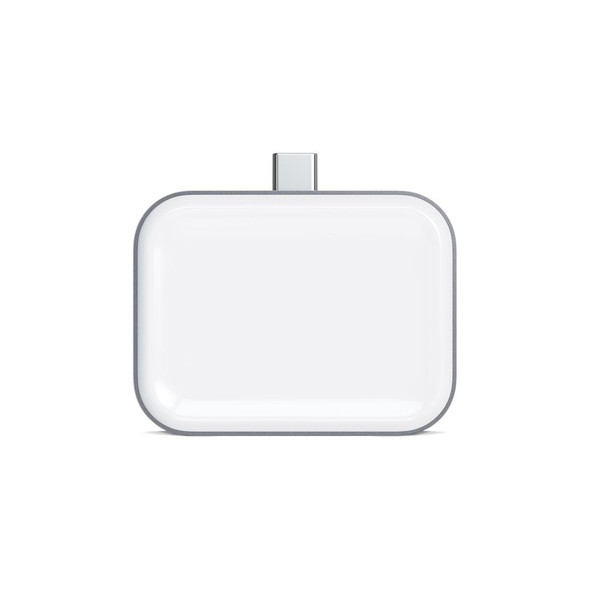 Satechi USB-C Wireless Charging Dock for AirPods (Space Grey)