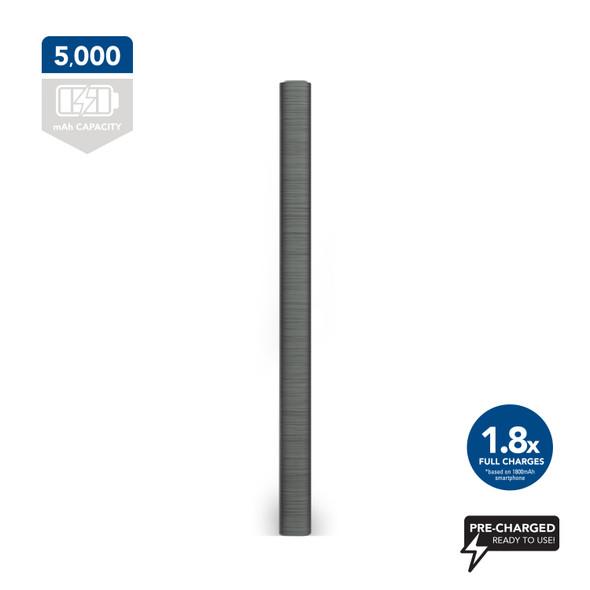 Bonelk Powerbank 5000mAh (Gunmetal) | ELK-23000-R | Rosman Computers - 2