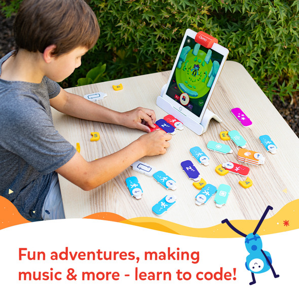 Osmo Coding Starter Kit for iPad for Ages 5-12 (Osmo Base included) | 901-00021 | Rosman Computers - 2