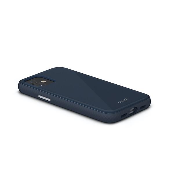 Moshi iGlaze for iPhone 12 Mini (Blue) | 99MO113531 | Rosman Computers - 2