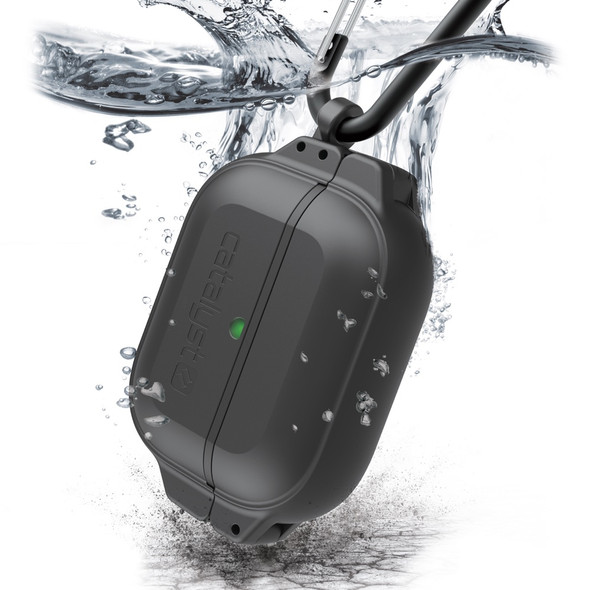 Catalyst Total Protection Case for AirPods Pro (Black) | CAT100APDPROBLK | Rosman Computers - 2