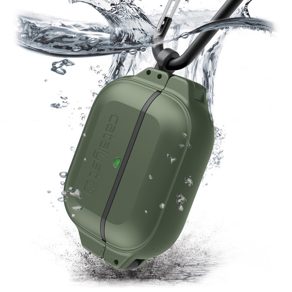 Catalyst Total Protection Case for AirPods Pro (Green) | CAT100APDPROGRN | Rosman Computers - 2