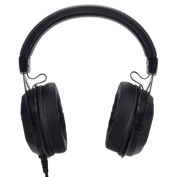 Bonelk GH-717 Gaming RGB LED Headphones, USB + 3.5mm (Black) | ELK-64001-R | Rosman Computers - 2