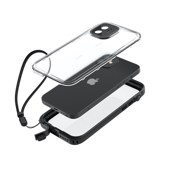 Catalyst Total Protection Case for iPhone 12 (Black) | CATIPHO12BLKM | Rosman Computers - 2