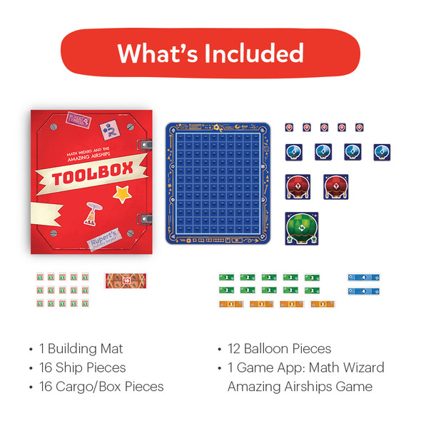 Osmo Maths Wizard and the Amazing Airships Game for Ages 6-8 | 902-00027 | Rosman Computers - 2