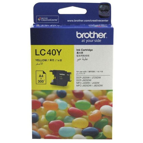Brother YELLOW INK CARTRIDGE TO 300 PAGES