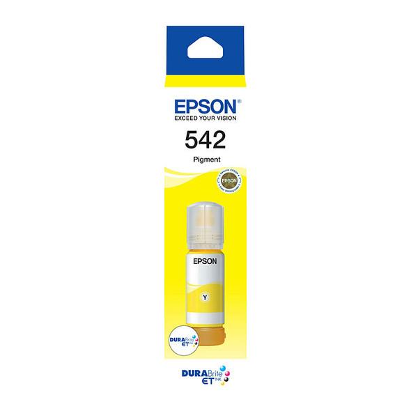 Epson T542 - DURABRite EcoTank - Yellow Ink | C13T06A492 | Rosman Computers - 1
