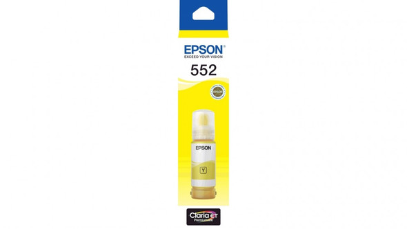 Epson T552 - Claria EcoTank - Yellow | C13T06W492 | Rosman Computers - 1