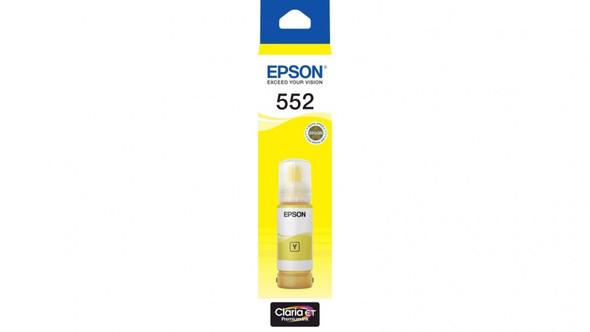 Epson T552 - Claria EcoTank - Yellow | C13T06W492 | Rosman Computers - 2