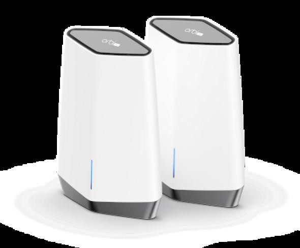 NETGEAR Orbi Pro WiFi 6 AX6000 Business Tri-band Mesh System 2 pack (SXK80) | SXK80-100AUS | Rosman Computers - 2