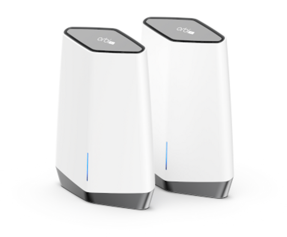 NETGEAR Orbi Pro WiFi 6 AX6000 Business Tri-band Mesh System 2 pack (SXK80) (SXK80-100AUS)