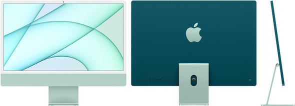 24-inch iMac with Retina 4.5K display: Apple M1 chip with 8-core CPU and 8-core GPU, 512GB - Green | MGPJ3X/A | Rosman Computers - 1
