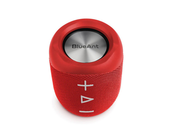 BlueAnt X1 Portable Bluetooth Speaker - Red | BlueAnt X1-Red | Rosman Computers - 1