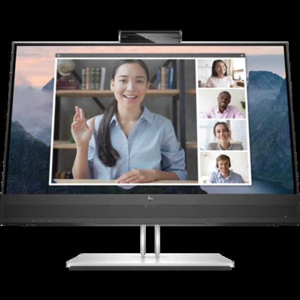 "HP E24mv, 23.8"" FHD IPS, EYE EASE, 16:9, 1920x1080, WEBCAM, SPEAKERS, VGA+DP+HDMI+USB, Tilt, Swivel, Pivot, Height, 3 Yrs (E24MV(169L0AA))   169L0AA   Rosman Computers - 2"