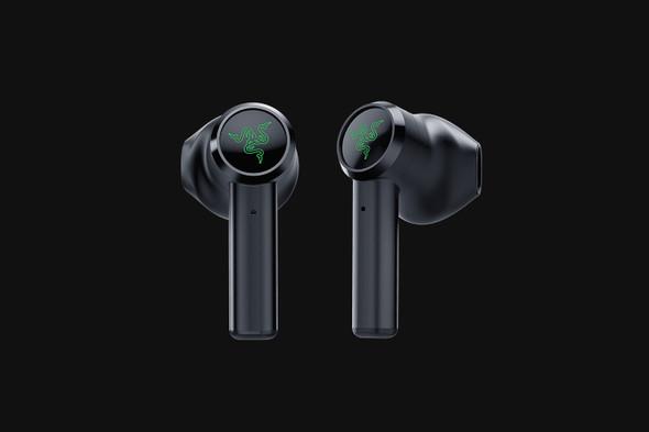 Razer Hammerhead True Wireless (New 2021)-Earbuds-Black-AP Packaging (RZ12-03820100) | RZ12-03820100-R3A1 | Rosman Computers - 2
