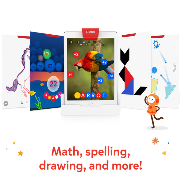 Osmo Genius Starter Kit for Classroom (4 Kits / 1 Teacher Guide / Plastic Pieces) | 906-00081 | Rosman Computers - 2