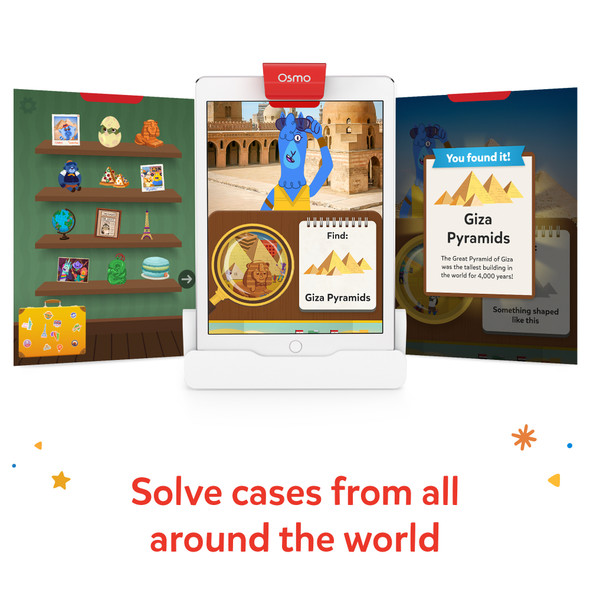 Osmo Detective Agency Game - Education Edition (Plastic Pieces) | 820-00068 | Rosman Computers - 2
