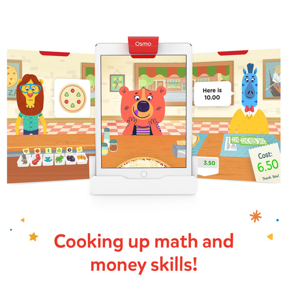 Osmo Pizza Co. Game - Education Edition (Plastic Pieces) | 820-00067 | Rosman Computers - 2