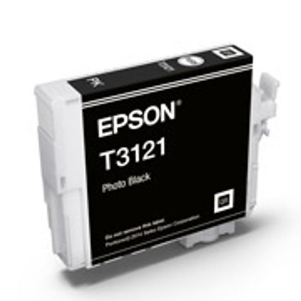 Epson T3121 UltraChrome Hi-Gloss2 Photo Black Ink Cartridge
