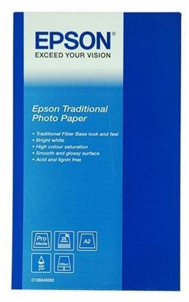 Epson Traditional Photo Paper - A3+ (S045051) | S045051 | Rosman Computers - 2