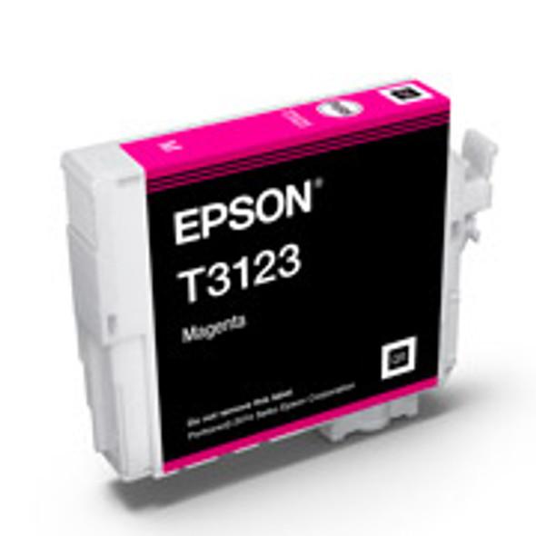 Epson T3123 UltraChrome Hi-Gloss2 Magenta Ink Cartridge