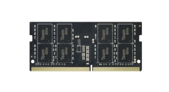 TEAMGROUP Elite DDR4 8GB Single 3200MHz PC4-25600 CL22 Unbuffered Non-ECC 1.2V SODIMM 260-Pin Laptop Notebook PC Computer Memory Module Ram Upgrade (TED48G3200C22-S01)