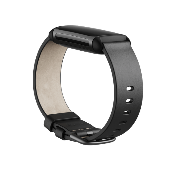 FITBT FITBIT CHARGE 5,LEATHER BAND,BLACK,SMALL (BNDCHAR5-LTH-BLK-S(FB181LBBKS)) | FB181LBBKS | Rosman Computers - 2