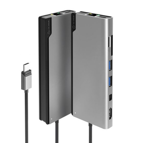 Alogic Ultra USB-C Dock PLUS V2 - Space Grey (ULDPLSV2-SGR) | ULDPLSV2-SGR | Rosman Computers - 1