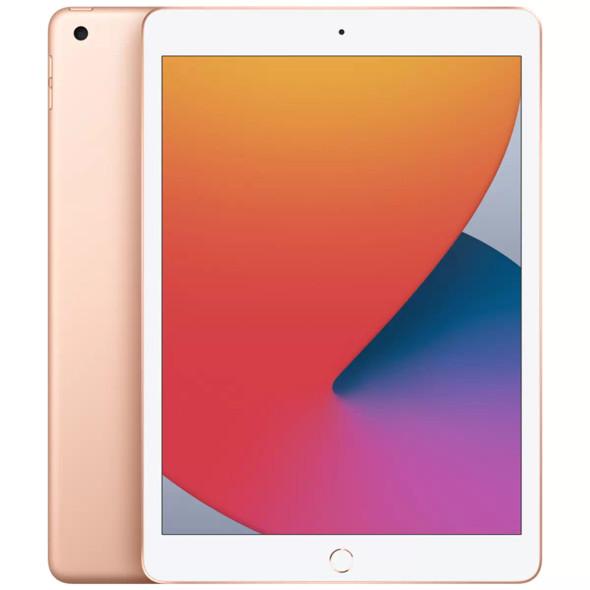 """Apple iPad 10.2"""" (8th Gen) Wi-Fi 32GB - Gold   MYLC2X/A   Rosman Computers - 1"""