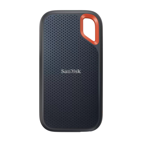 SanDisk Extreme Portable SSD, E61 2TB, USB 3.2 Gen 2, Type C & Type A compatible, Read speed up to 1050MB/s, Write speed up to 1000MB/s, 5Y (SDSSDE61-2T00-G25)
