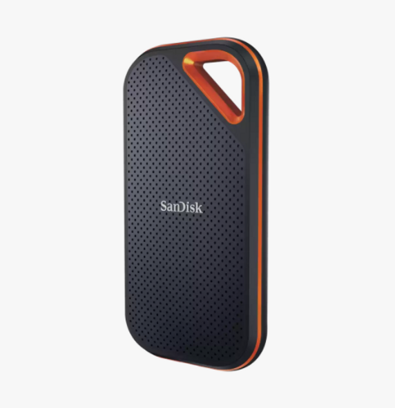 SanDisk Extreme Portable SSD, E61 500GB, USB 3.2 Gen 2, Type C & Type A compatible, Read speed up to 1050MB/s, Write speed up to 1000MB/s, 5Y (SDSSDE61-500G-G25)