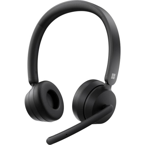 Microsoft Modern Wireless Headset Commercial Black (8JU-00010) | 8JU-00010 | Rosman Computers - 1