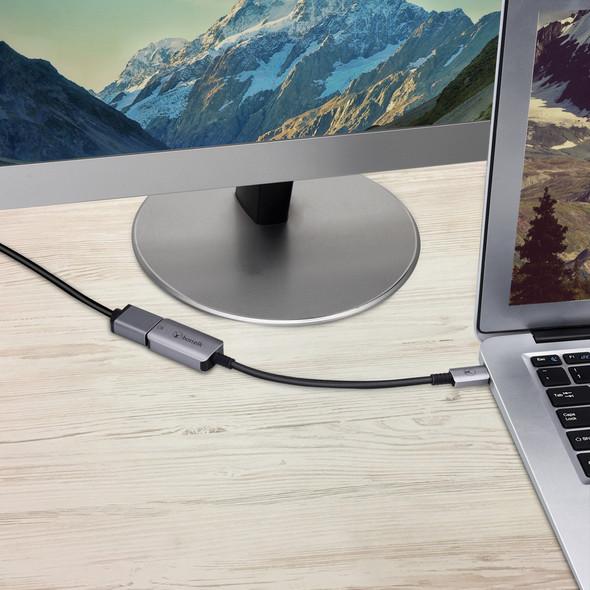 Bonelk Long-Life USB-C to 4K HDMI Adapter - 15cm (Space Grey) | ELK-80025-R | Rosman Computers - 2