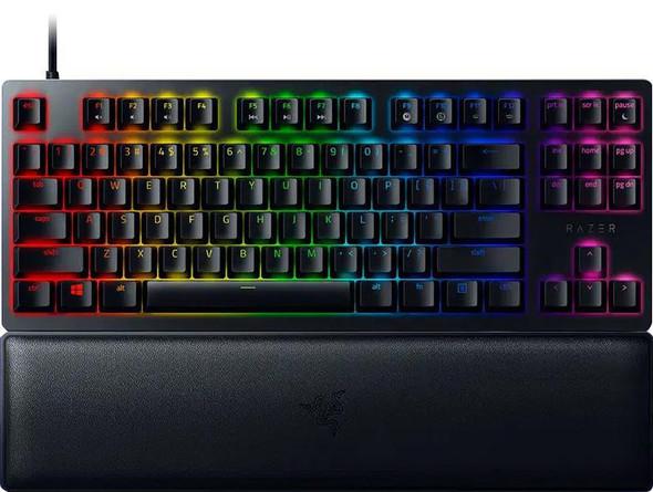 Razer Huntsman V2 Tenkeyless-Optical Gaming Keyboard (Clicky Purple Switch)-US Layout (RZ03-03940300)   RZ03-03940300-R3M1   Rosman Computers - 1