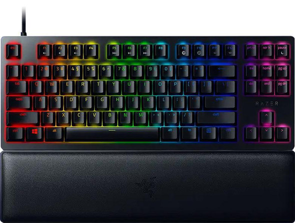 Razer Huntsman V2 Tenkeyless-Optical Gaming Keyboard (Clicky Purple Switch)-US Layout (RZ03-03940300)   RZ03-03940300-R3M1   Rosman Computers - 2
