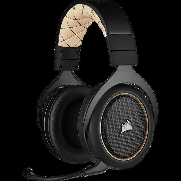 CORSAIR HS70 PRO WIRELESS Gaming Headset, Cream (CA-9011210-AP(HS70-PRO-C)) | CA-9011210-AP | Rosman Computers - 1