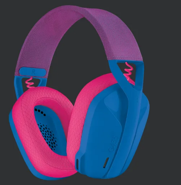 Logitech G435 LIGHTSPEED Wireless Gaming Headset Blue (981-001063(G435)) | 981-001063 | Rosman Computers - 2