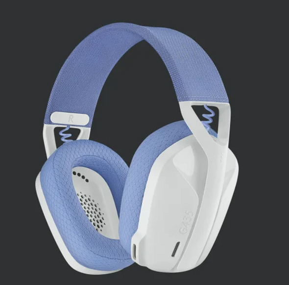 Logitech G435 LIGHTSPEED Wireless Gaming Headset White (981-001075(G435)) | 981-001075 | Rosman Computers - 1
