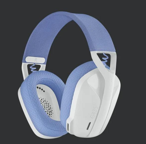 Logitech G435 LIGHTSPEED Wireless Gaming Headset White (981-001075(G435)) | 981-001075 | Rosman Computers - 2