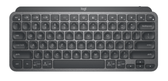 Logitech MX Keys Mini Minimalist Wireless Illuminated Keyboard Graphite (920-010505(MXKEYS)) | 920-010505 | Rosman Computers - 1