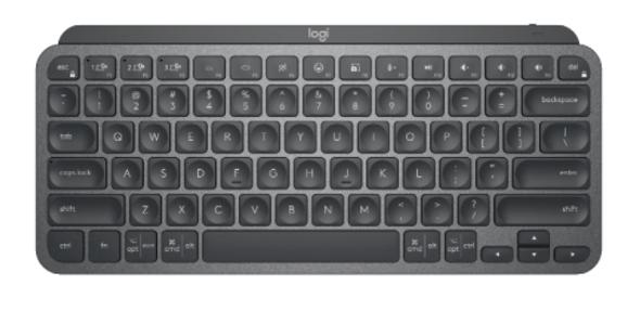 Logitech MX Keys Mini Minimalist Wireless Illuminated Keyboard Graphite (920-010505(MXKEYS)) | 920-010505 | Rosman Computers - 2