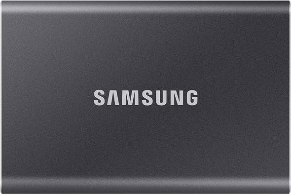 Samsung Portable SSD T7, 1TB, Titan Gray, USB3.2, Type-C, R/W(Max) 1,050MB/s, Aluminium Case, 3 Years Warranty (MU-PC1T0T/WW)   MU-PC1T0T/WW   Rosman Computers - 1