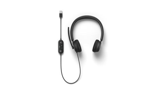 Microsoft Modern USB-C Headset Commercial Black (I6P-00004) | I6P-00004 | Rosman Computers - 1