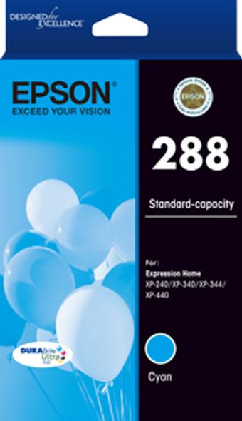 Epson 288 Std Capacity DURABrite Ultra Cyan ink, XP-240, XP-340, XP-344, XP-440 (T305292) | C13T305292 | Rosman Computers - 1