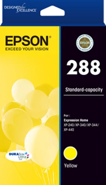 Epson 288 Std Capacity DURABrite Ultra Yellow ink, XP-240, XP-340, XP-344, XP-440 (T305492) | C13T305492 | Rosman Computers - 1